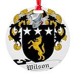 Wilson (Fingach)-Scottish-9.jpg Round Ornament