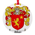 abbate.png Round Ornament