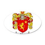 abbate.png Oval Car Magnet