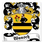 Wunsch_6 Square Car Magnet 3