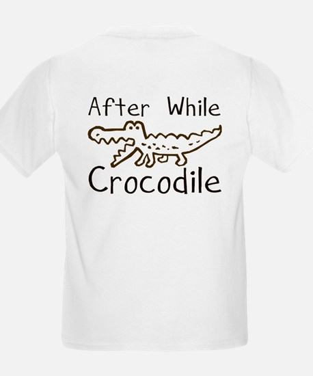 Alligator and Crocodile Kids T-Shirt