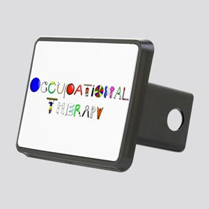 OT at work Rectangular Hitch Cover