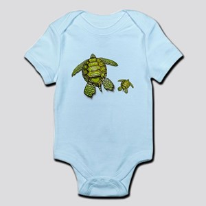 I Swim with Sea Turtles Body Suit