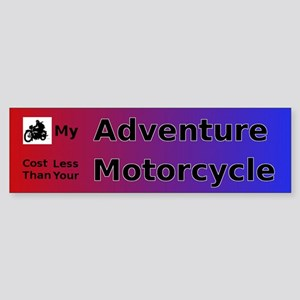 My Adventure Bumper Sticker