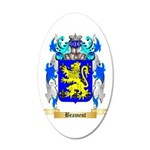 Beament 20x12 Oval Wall Decal