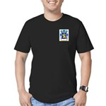 Beaman Men's Fitted T-Shirt (dark)