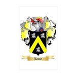 Bealle Sticker (Rectangle 10 pk)