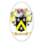 Beall Sticker (Oval 50 pk)