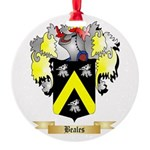 Beales Round Ornament