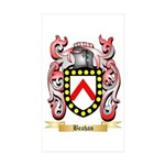 Beahan Sticker (Rectangle 50 pk)