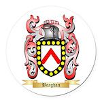 Beaghan Round Car Magnet