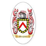 Beaghan Sticker (Oval 50 pk)