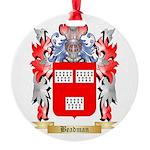 Beadman Round Ornament