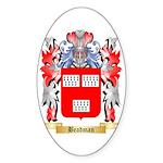 Beadman Sticker (Oval)