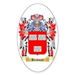 Beadman Sticker (Oval 10 pk)