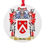 Beadle Round Ornament