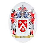 Beadle Ornament (Oval)