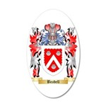 Beadell 35x21 Oval Wall Decal