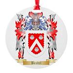 Beadel Round Ornament