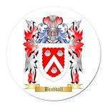Beaddall Round Car Magnet