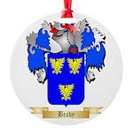 Beaby Round Ornament