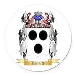 Bazylets Round Car Magnet