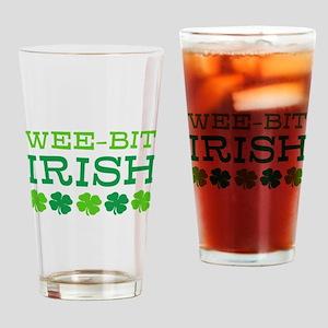 WEE-BIT Irish Drinking Glass