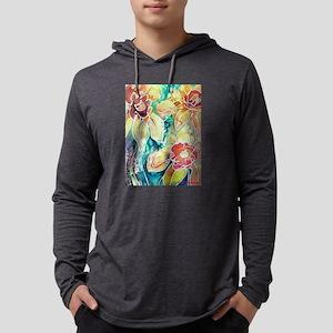 Daffodils! Spring flower art! Mens Hooded Shirt