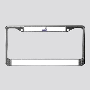 Huschi Connecticutienses License Plate Frame