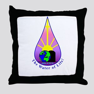 The Water of Life! Throw Pillow