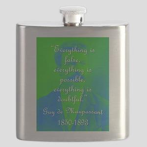 Everything Is False - de Maupassant Flask