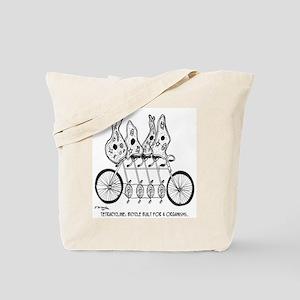 Tetracycline: Bike Built For Four Tote Bag