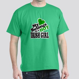 My Heart Belongs to an Irish Girl T-Shirt
