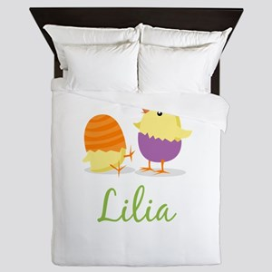 Easter Chick Lilia Queen Duvet