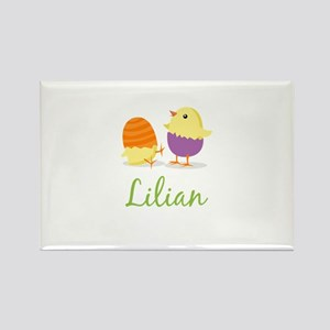 Easter Chick Lilian Rectangle Magnet