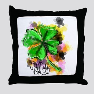 Happy St Paddy's Day Throw Pillow