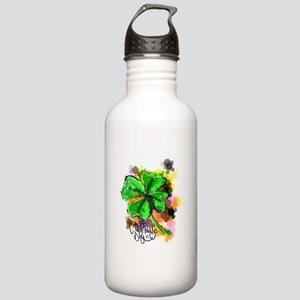 Happy St Paddy's Day Stainless Water Bottle 1.0L