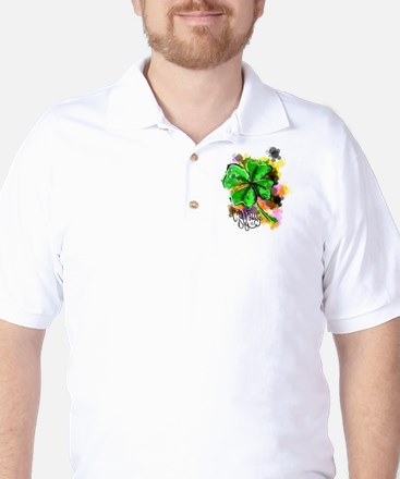 Happy St Paddy's Day Golf Shirt