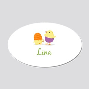 Easter Chick Lina Wall Decal