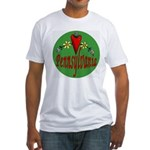 Love Pennsylvania Fitted T-Shirt