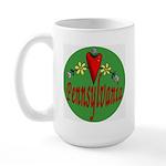 Love Pennsylvania Large Mug