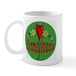 Love Pennsylvania Mug