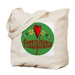 Love Pennsylvania Tote Bag