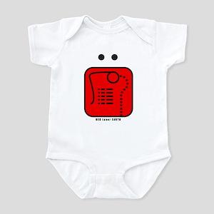 RED Magnetic EARTH Infant Bodysuit