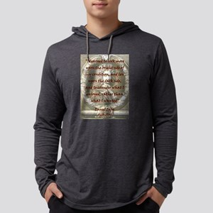 I Learned To Look More Upon - Defoe Mens Hooded Sh