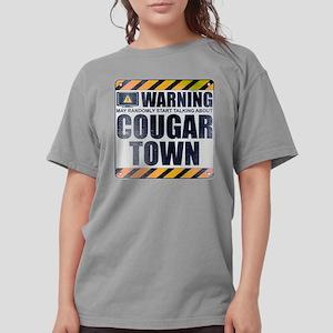 Warning: Cougar Town Womens Comfort Colors Shirt