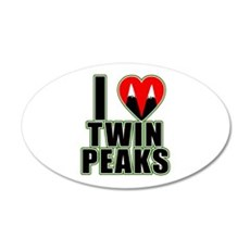 I Love Twin Peaks Wall Decal