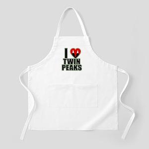 I Love Twin Peaks Apron