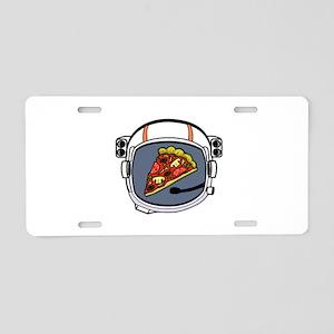 PIZZA Aluminum License Plate