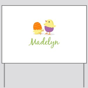 Easter Chick Madelyn Yard Sign